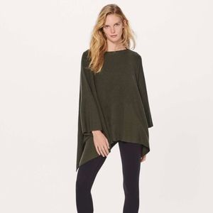 Lululemon | Wool Be Cozy Poncho